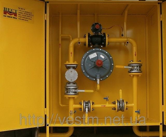 шкафной регулятор давления газа